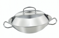 Вок Fissler Original pro collection, 30 см с крышкой