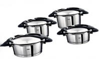 Набор кастрюль Fissler Intensa, black series, 4 предмета